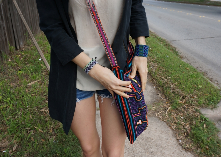 mexican bracelets, peruvian purse