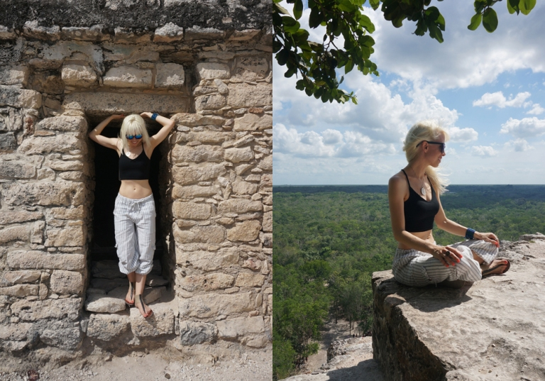 on top of coba pyramid