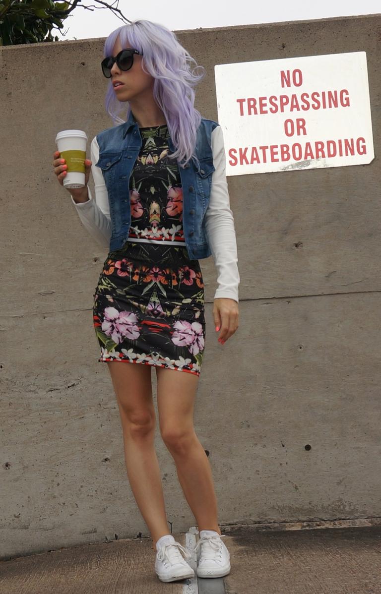 One dress three ways - casual & cool