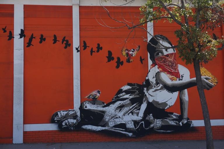 Koreatown mural