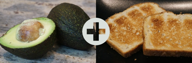 Avocado and toast are better together