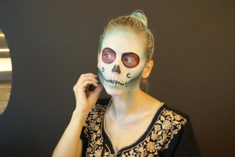 maquillaje de catrina tutorial