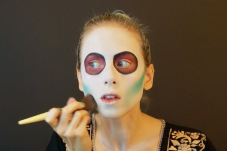 tutorial maquillaje de catrina