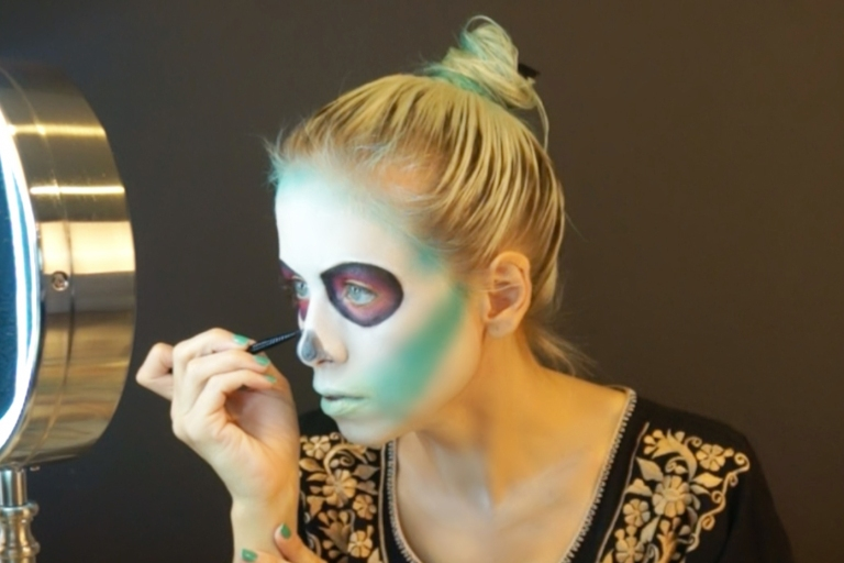 sugar skull nose shape