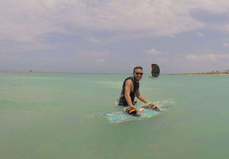 Kitesurfing in Aruba