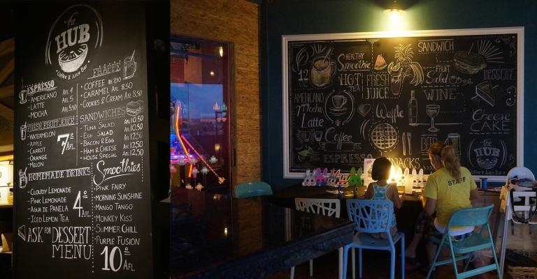 Hub Cafe in Aruba