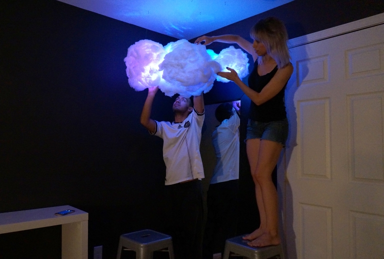 Diy Cloud Lamp Superholly