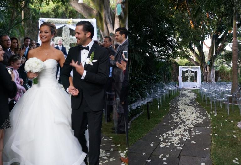 boda en el hotel anticavilla, Cuernavaca Xareni y Adrian