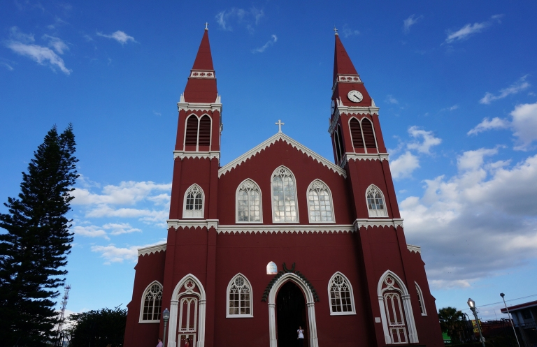 Grecia Costa Rica church