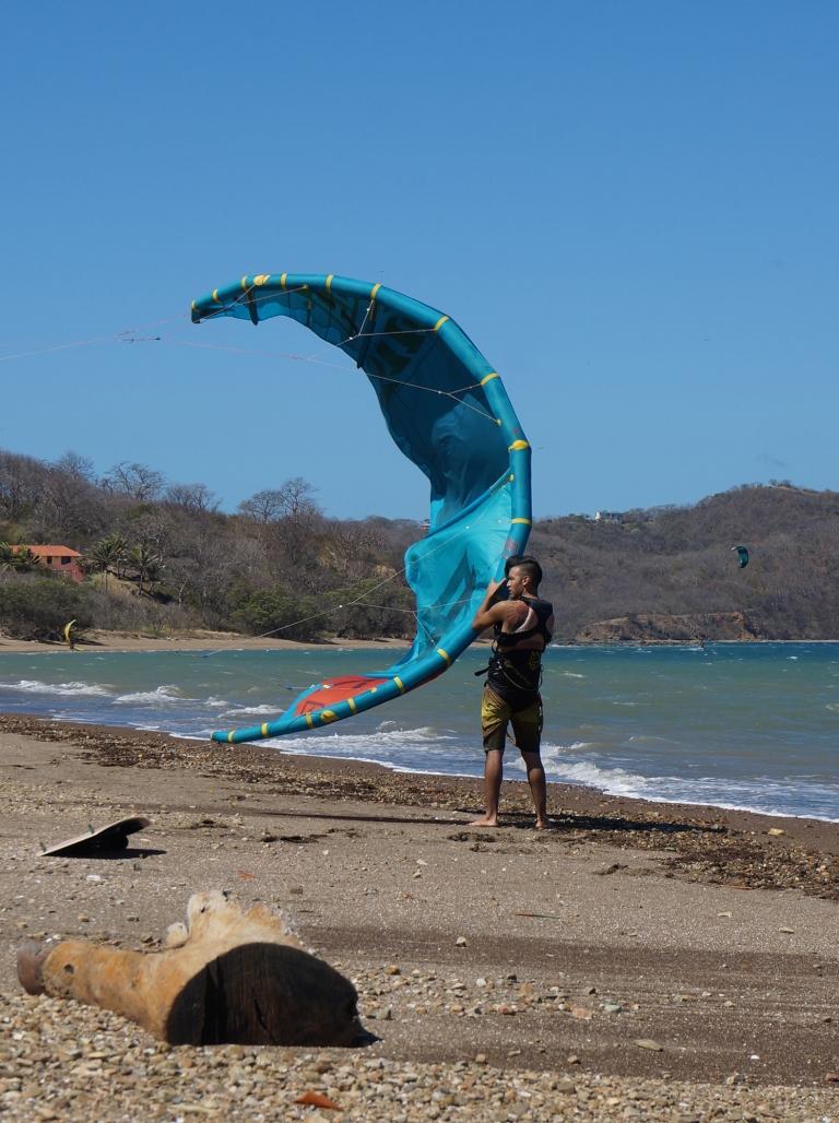 Haciendo Kite en Costa Rica, Guanacaste