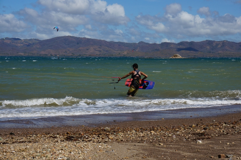 Kite surfing in Costa Rica
