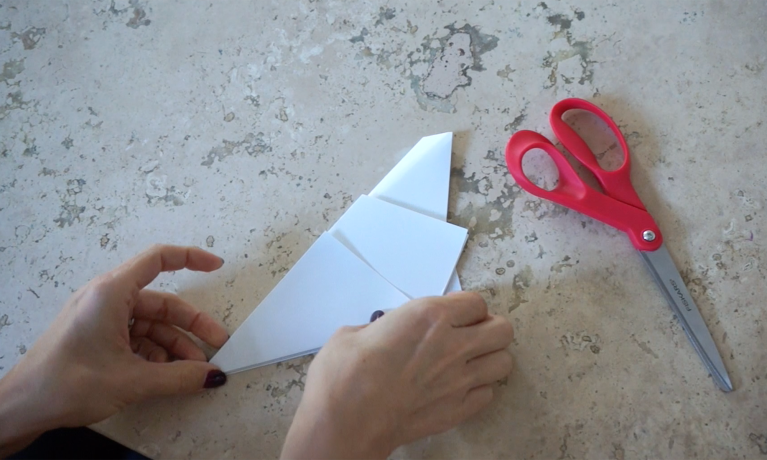 how to fold a 5 point star DIY