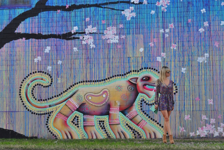 colorful murals in houston